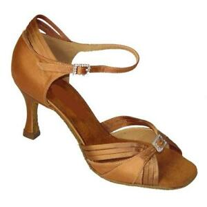 Ladies Dance Shoes Ballroom Salsa Latin Line UK 3 - 8