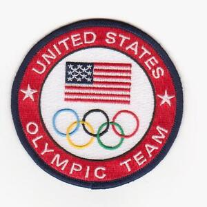 2020 Team USA Olympic Patch Team USA Patch 100% Embroidery Best Quality guarante