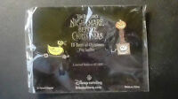 DISNEY PIN LE 1000 Nightmare Before Christmas 13 days series set #5 Duck & Box