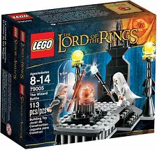 NEW Lego LOTR 79005 The Wizard Battle LOW Ship SEALED Saruman & Gandalf RETIRED