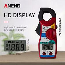 Aneng Kt87n Mini Digital Clamp Meter Acdc Voltage 600v Multimeter Test Meter