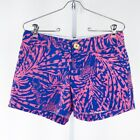 Women's Blue Lilly Pulitzer Rollin In The Grass Callahan Shorts sz 2