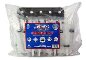 Ez Inject Jello Party Shot Syringes 30ml Combo Kit
