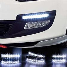 White 6-LED 5050 Car Daytime Running Light DRL Daylight High Power Fog Lamp 12V