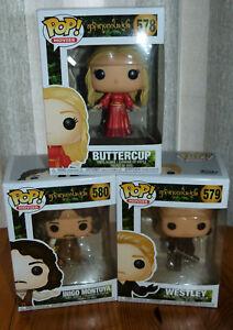 POP! Vinyl: The Princess Bride: Buttercup, Inigo Montoya, Westley, 578,579 580