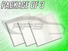 C26185 CABIN AIR FILTER FOR 2012 - 2017 FIAT 500 500C ABARTH - PACKAGE OF 3
