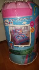 Lalaloopsy Twin Comforter Set Reversible With Pillow Sham Bed Skirt Cotton Rich