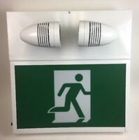LED EMERGENCY EXIT WITH BACKUP BATTERY ( RUNNING MAN SIGN )
