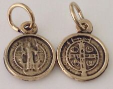 Medalla  de san Benito proteccion para todo lo negativo 1/2 Pulgada Oxidada