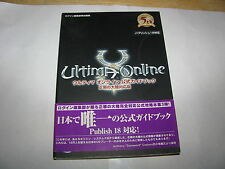Ultima Online Age of Shadows Official Guide Book Japan Import