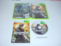 SNIPER GHOST WARRIOR game complete in case w/ manual - Microsoft XBOX 360