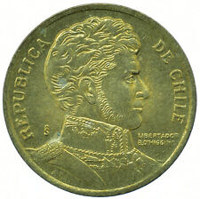 COIN / CHILE / 10 PESOS 1996 UNC BEAUTIFUL COLLECTIBLE  #WT29775