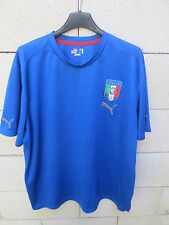VINTAGE Maillot ITALIE ITALIA maglia calcio football ITALY PUMA shirt trikot XXL