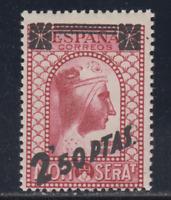 ESPAÑA (1938) NUEVO SIN FIJASELLOS MNH SPAIN - EDIFIL 791 (2,50 pts)