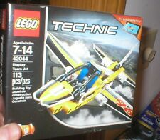 LEGO TECHNIC SERIES SET- DISPLAY TEAM JET, 113 PCS, FOR AGES 7-12.  UNOPENED.