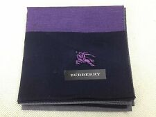 """Auth Burberry Handkerchief pre-owned unused 100% Cotton 5D080712"""""""