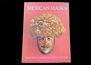 MEXICAN MASKS FROM THE SOUTHWEST MUSEUM  MASTERKEY 1988  MEXICO