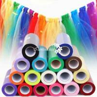 "Tulle Spool fabric Rolls Tutu Dress 6""x100Yds Gift Wrap Wedding Supplies Decor"