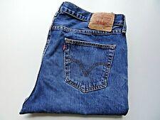 "LEVIS 751 Jeans Straight Leg Blue Denim SIZE W40 L32 Waist 40"" Leg 32"" LEVI 751"