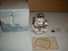 Harbour Lights Hereford Inlet New Jersey #71- Box Coa