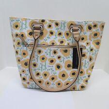 Purse Tignanello Canary Poppy Perfect Pockets Medium Size Tote Shoulder Bag NWT