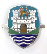 Wolfsburg Emblem Hood Badge for Volkswagen (Type1 Beetle Blue,1953-1959 VW)