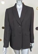 Tahari Arthur S. Levine Woman Suit Jacket Suzanne Brown Lined Sz 16