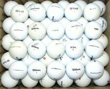 New listing (50) Fifty Lightly Used Wilson (Mix) Golf Balls AAAA - AAAAA near mint