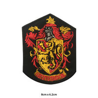 Harry Potter Gryffindor Embroidered Patch Iron on Sew On Badge For Clothes etc