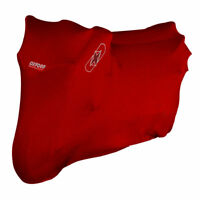Oxford Protex Premium Stretch InDoor Bike Motorcycle / Scooter Dust Cover - RED