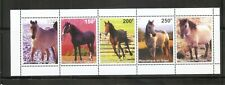 Niger / 1998 Horses,  Strip Of five . MNH