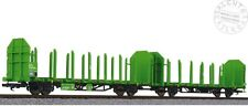 LILIPUT L235240 set dos vagónes transporte de la madera Laaps DB AG época VI 1/