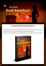 Erotik Bastelbuch - eBook - Verkaufsseiten Generator -  PLR-Lizenz