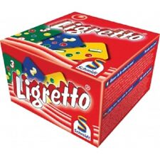 Game by Schmidt - LIGRETTO RED Edition Card Game for 2 - 4 Players - Fast & Fun