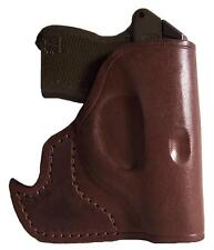 Pocket Holster fits Jennings J22 J25 Brown Leather Ambidextrous ProTech PTFP-A