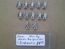 15mm Mini Figs  Ancient Numidian  Auxillary Spanish Spear