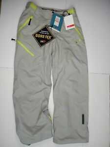NEW! OAKLEY GREAT ASCENT GRAY PANTS SIZE S SMALL W/ GORE-TEX & RECCO TECHNOLOGY