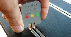 TC-402 Slot Car Track Tester 1:32 slot car layouts.