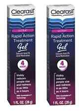 Clearasil Ultra Rapid Action Treatment Gel, 1 oz (2 Pack)
