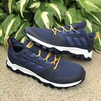Adidas Kanadia Trail Running Shoes EE8183 Navy Blue White Men's Size 12 US