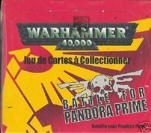 WARHAMMER 40000 40 BOOSTERS  BATTLE FOR PANDORA PRIME VF