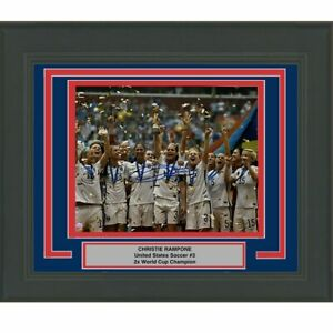 FRAMED Autographed/Signed CHRISTIE RAMPONE Team USA 8x10 Photo Steiner COA
