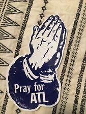 Pray For Atl Sticker By Atlanta Artist R. Land Minitries 8in Sticker Decal Atl