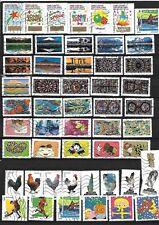 N°417- beau lot de 52 timbres France -2016- en très bon état- tous différents