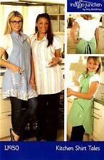KITCHEN SHIRT TALES SEWING PATTERN, From Indygo Junction NEW
