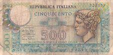 BANCONOTA DA 500 LIRE REPUBBLICA ITALIANA (CAR-1)