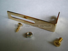 NEW Pickguard Mounting Bracket for Les Paul Nickel Gold