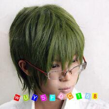 Olive Green Kuroko's Basketball Shintaro Midorima Cosplay Costume Wig
