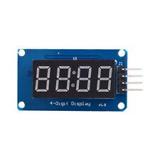 1pcs 4 Bits TM1637 Red Digital Tube LED Module & Clock For Arduino Raspberry Pi
