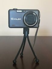 Casio Digital Camera Hi-Speed Exilim Ex-Fc100 Black Ex-Fc100 - Bundle